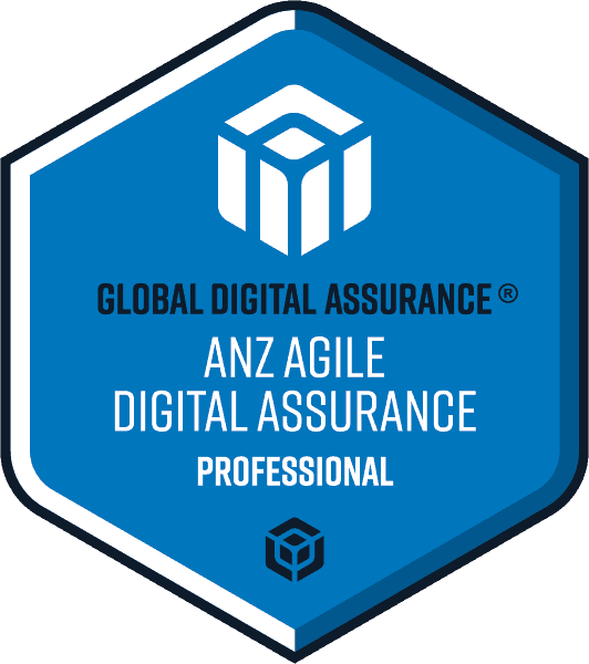 ANZ Agile Digital Assurance® Professional