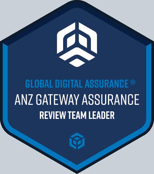 ANZ Gateway Assurance® Review Team Leader