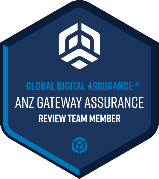 ANZ Gateway Assurance® Review Team Member