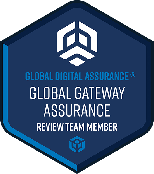 Global Gateway Assurance® Review Team Member